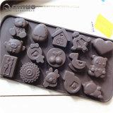 Types d'animaux Fiveteen cake en silicone en forme de moule à gâteau