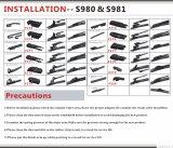 De Toebehoren van de auto van het Multifunctionele Blad van de Wisser (S980)