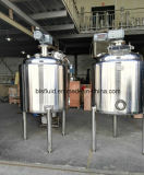 el tanque de mezcla vestido del doble de la calefacción de vapor del acero inoxidable 1000L