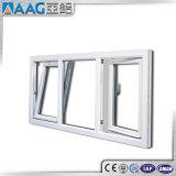 Finestra di alluminio di girata di inclinazione/verso l'interno finestra di apertura