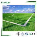 Hierba artificial del campo de fútbol del deporte de la PU 50m m del forro