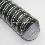 Flexibele Slang van de Lucht van de Stof van de Glasvezel van het silicone de Draad Versterkte