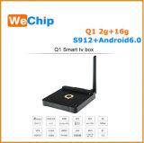 Q1 S912 인조 인간 6.0 2+16g Ott 인터넷 텔레비젼 상자