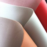 Kintted Backing PU Leather for Furniture Sofá-cama Hw-267