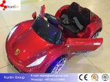 Automobile di bambino elettrica a pile di plastica di vendita calda 2015 con telecomando