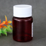bouteille en plastique de 60ml Brown pour la médecine de soins de santé