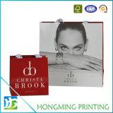 Il Libro Bianco di lusso ha stampato il sacchetto del regalo con la maniglia di seta