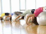 Bola de la yoga de la bola de la gimnasia