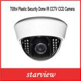 700ТВЛ пластиковые безопасности купол IR ПЗС-камеры CCTV
