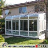 Het aangemaakte Aluminium Sunroom van het Glas