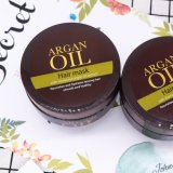 Masque de cheveux à l'huile d'argan organique privé pour traitement des cheveux