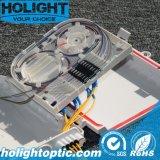 Coffret d'extrémité de ports de la fibre optique 2-8