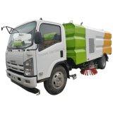 Le Japon Isuzu vide de la rue de l'aéroport de nettoyage de la piste Sweeper chariot Prix de vente de camion de balayeuse de route