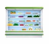 congelador aberto do supermercado 960L/refrigerador usado do supermercado e congelador/congelador do console