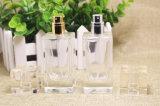 frasco de perfume de cristal da classe 50ml elevada. Frasco de perfume do pulverizador