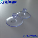Qinuo Custom Strong 30mm à tête bombée en plastique transparent vide ventouse