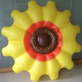 Finego PVC Watermelon Inflatable Water Sunflower Lounge Pool Toy Float