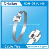 304 circinaux serre-câble libérable de l'acier inoxydable dans l'électricité