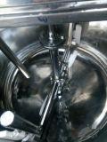 蒸気のミキサーの混合タンクが付いている電気加熱ジャケットタンク