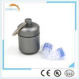 Tapones de seguridad de silicona negro con filtro