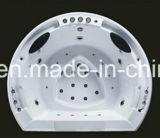 2080mm redondo construir en la bañera de masaje spa con Ce RoHS (A-0769)
