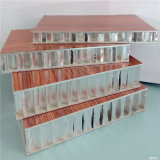El panel compuesto de aluminio de la base de panal del revestimiento de la pared exterior (HR260)