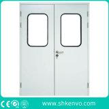 Doble del acero inoxidable limpiar las puertas de espacio para la comida o farmacéuticos Industrias