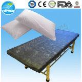 Cubierta no tejida de la almohadilla, cubierta disponible de la almohadilla para el uso del hospital
