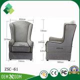 居間(ZSC-61)のためのイタリア高の様式の背部ソファーの椅子