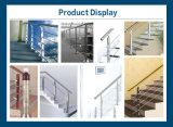 Barandilla de aluminio de la calidad durable para la escalera