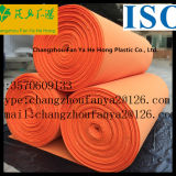 De modèle d'orange matériau neuf de semelle intérieure de coton vigoureusement