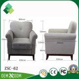 Singola presidenza del tessuto del sofà del nuovo modello per il salone (ZSC-62)