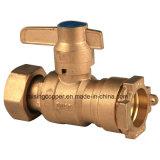 Wasser-Messinstrument-verschließbarer Kugelventil-Hersteller
