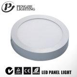 Aluminio la superficie de la luz del panel LED 6W para el hogar con Ce (Ronda)