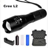 Im Freienkampieren 18650 CREE L2 2000lm PAS Taschenlampen-Fackeln der Notbeleuchtung-LED