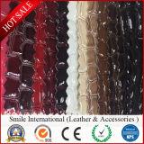 PVC 인공적인 악어 패턴