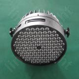 la PARITÀ professionale di 120X3w DMX può indicatori luminosi della fase di RGBW LED