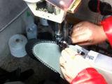مزدوجة إبرة جلد مقسين أحذية يخيط [سو مشن], [سفتي شو] آلة