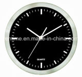 Horloge de mur promotionnelle de quartz fixé au mur fait sur commande d'horloge