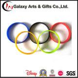 Kundenspezifische Form-förderndes Geschenk-Silikonwristband-Armband
