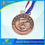 Medaglia d'ottone dell'oggetto d'antiquariato del metallo di alta qualità personalizzata professionista per il ricordo (XF-MD21)