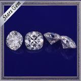 금 보석을%s E/F 백색 색깔 Moissanite 최상 잘 닦은 원석