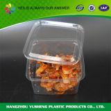 Пластичный контейнер упаковки еды, принимает отсутствующие устранимые коробки
