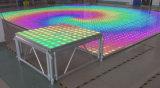 100pixel結婚式のためのアクリルのポータブル3D LEDのダンス・フロアのパネル