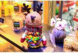 Decorazione di natale dei fornitori di natale del contenitore di regalo della caramella del regalo di natale