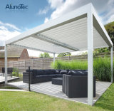 Gazebo Louvered Rainproof del Pergola del tetto del patio di Sunshading