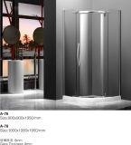Cabine de vidro do chuveiro da têmpera da exportação de Slaes da fábrica