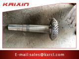 Transmissão de alta precisão pequena engrenagem de aço