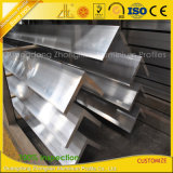 Leverancier 6061 van het aluminium het 6063 Uitgedreven Industriële Profiel van de Hoek van het Aluminium