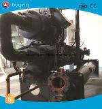 Refrigerador industrial de refrigeração do parafuso do desempenho da indústria têxtil água estável